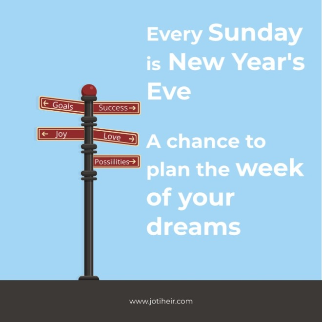 Every Sunday is New Year's Eve