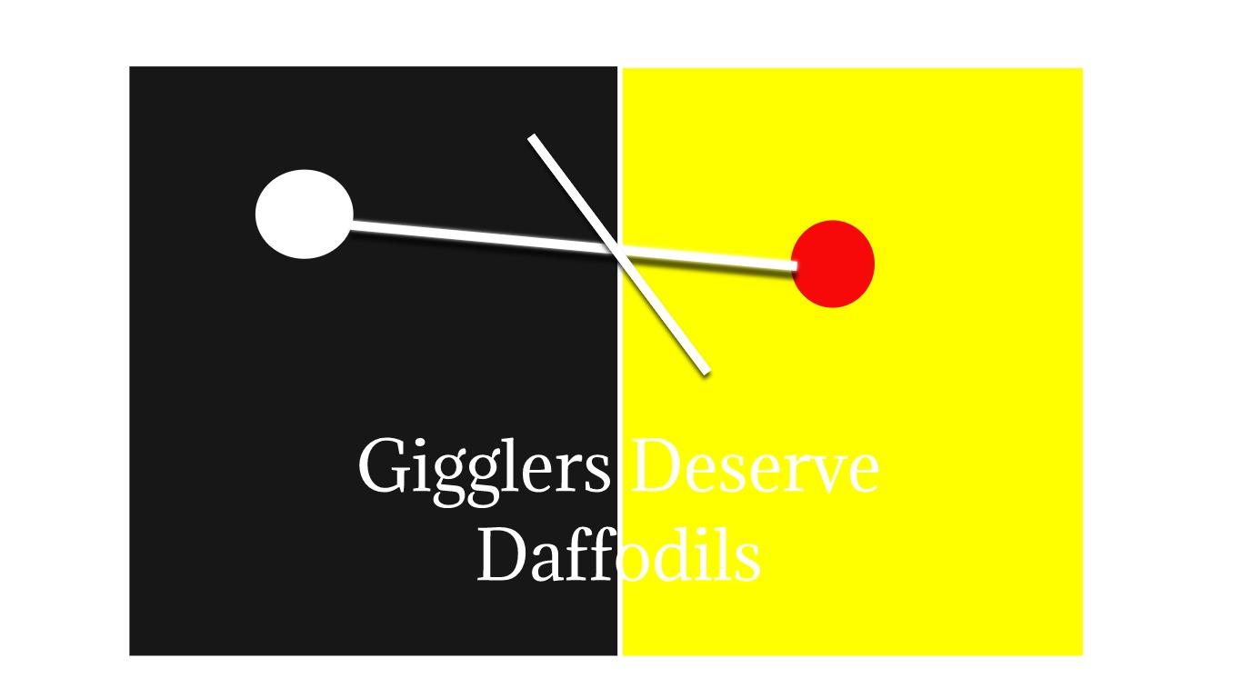 Gigglers Deserve Daffodils by Joti Heir